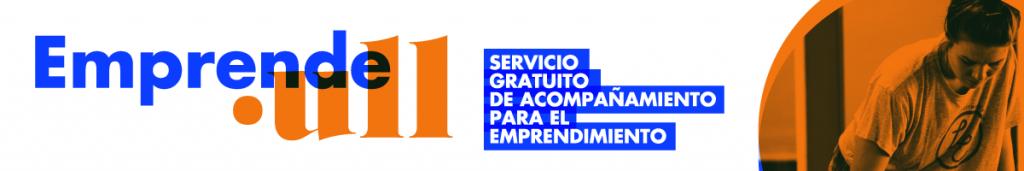 Banner de Emprende.ull - Servicio gratuito de acompañamiento para el emprendimiento