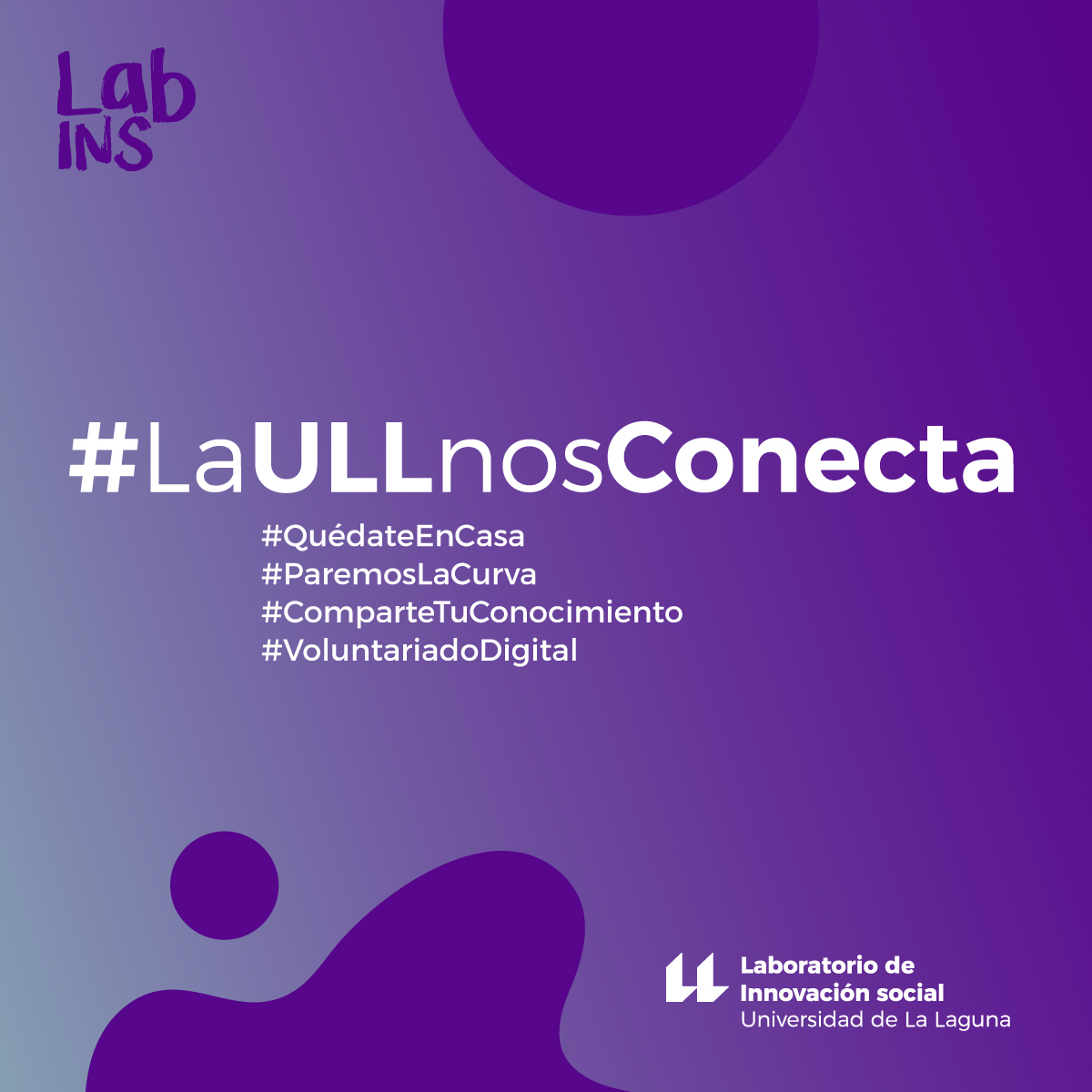Iniciativas canarias - Labins - La ULL nos conecta - #LaULLnosConecta