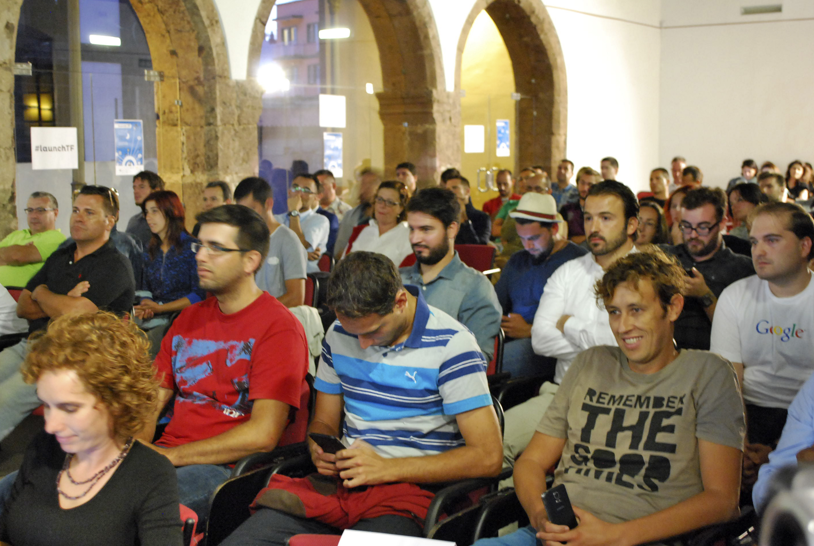 launchTF Startup Night, momentos