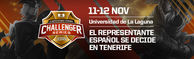 Clasificatorio Español Challenger Series (League of Legends) en la ULL