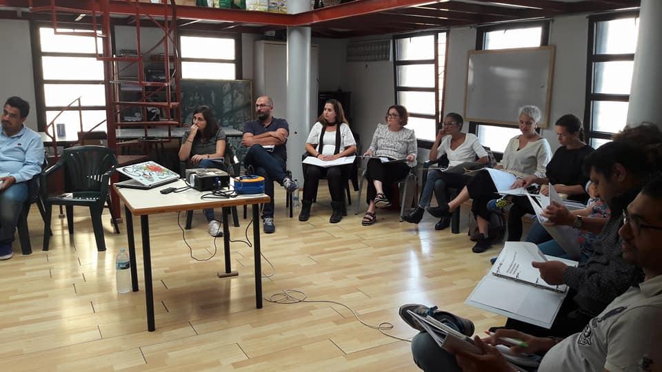 Curso Barrios por el Empleo, Cabildo de Tenerife y FGULL. Mediación comunitaria.