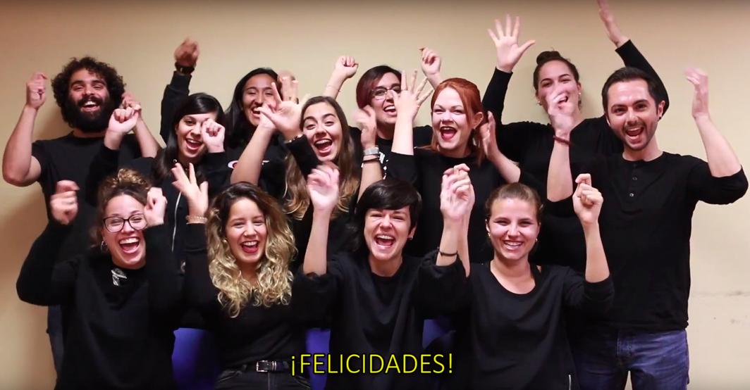 El alumnado del Servicio de Idiomas celebra el Día Nacional de las Lenguas de Signos Españolas