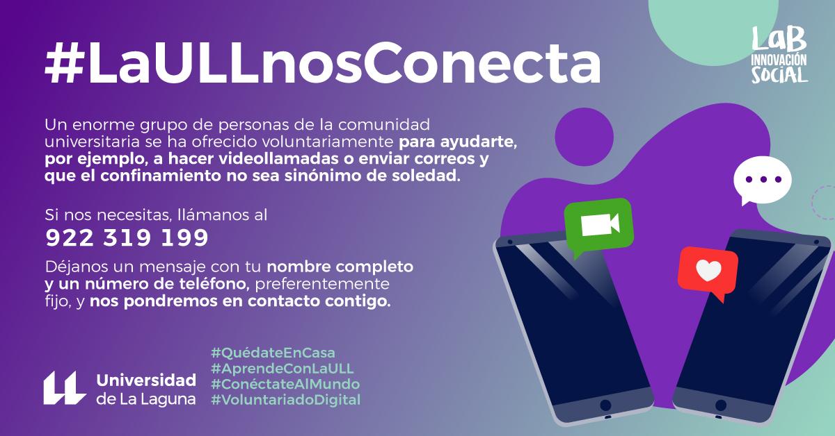 #LaULLnosConecta - La ULL nos conecta