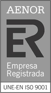 Sello AENOR UNE-EN ISO 9001
